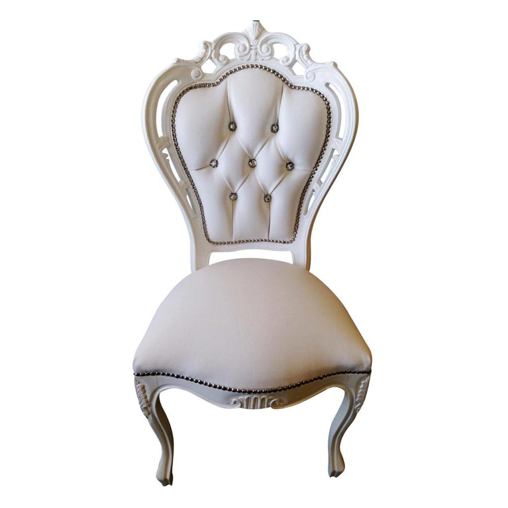 White Italian Feature Chair