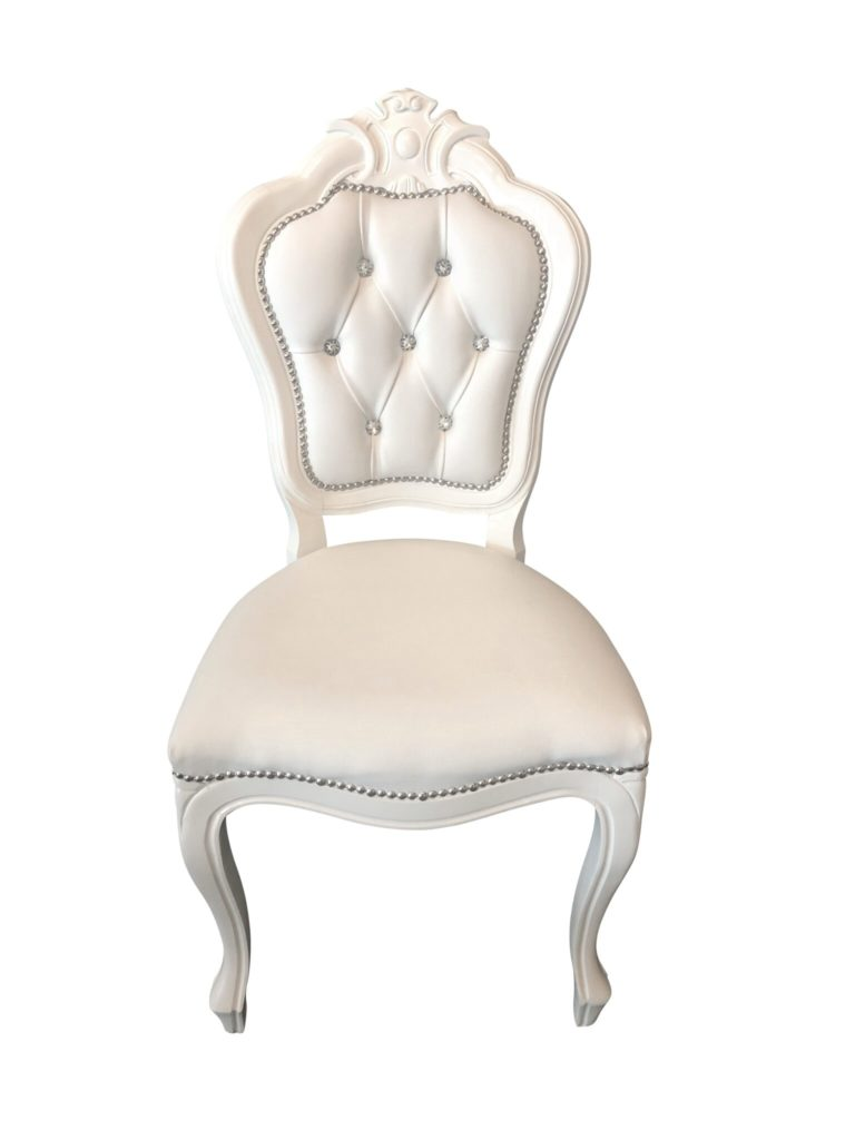White Princess Chair