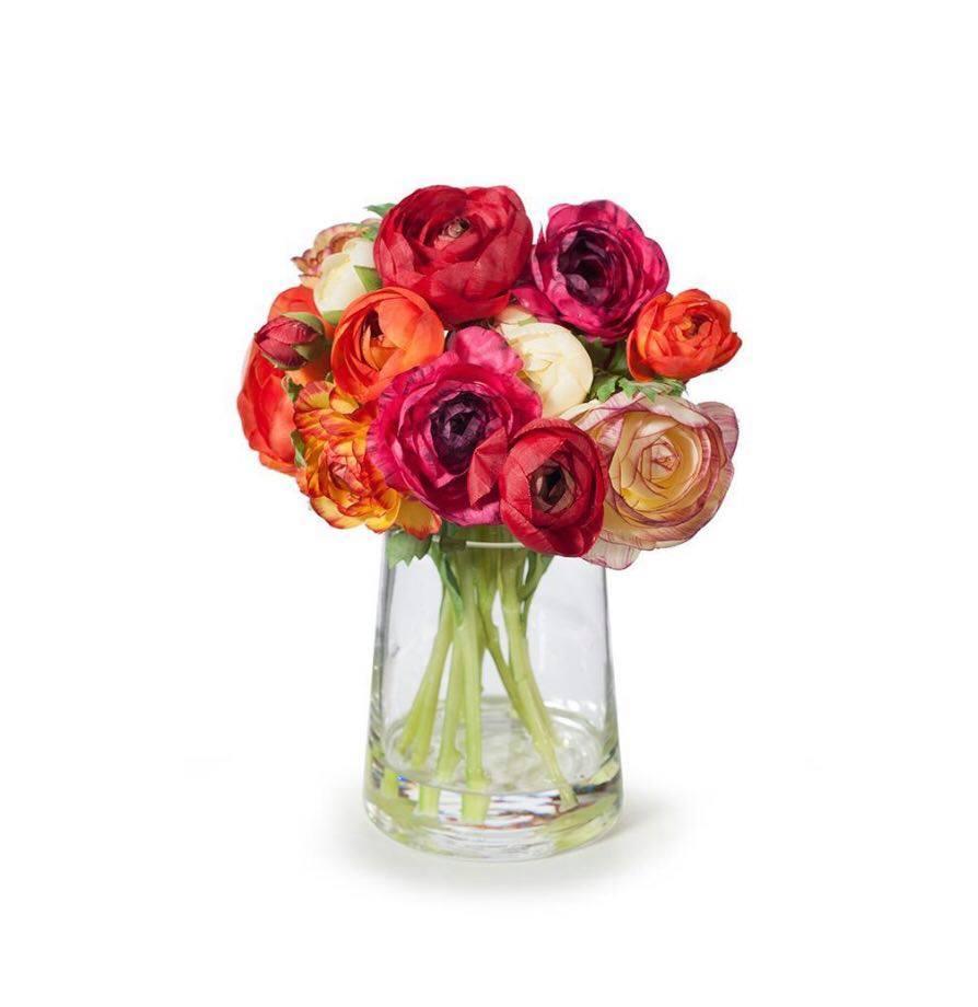 Ranunculus Mix in Vase